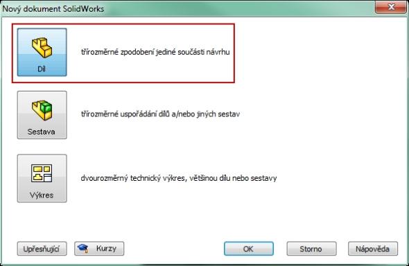 1-SolidWorks-nut-matice-návod-tutorial-postup