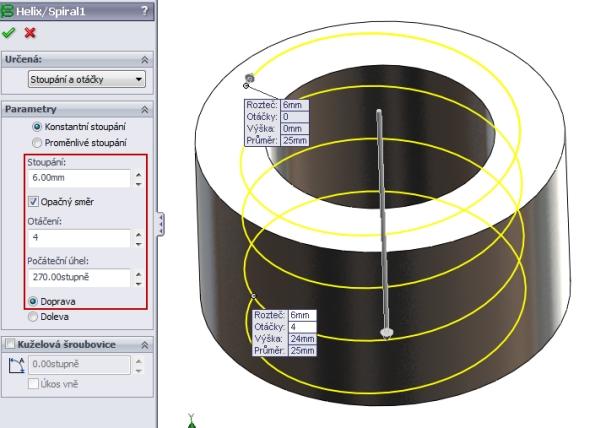 10-SolidWorks-nut-matice-návod-tutorial-postup