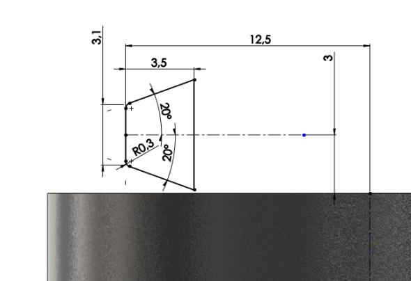 11-SolidWorks-nut-matice-návod-tutorial-postup