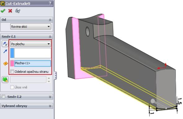 14-SolidWorks-Caxmix-návod-tutorial-hasák