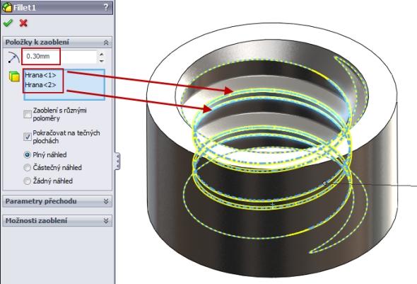 16-SolidWorks-nut-matice-návod-tutorial-postup