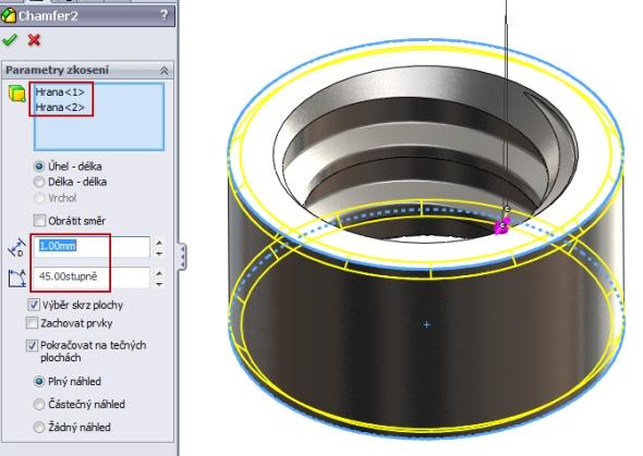 18-SolidWorks-nut-matice-návod-tutorial-postup