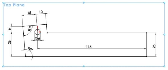 2-SolidWorks-Caxmix-návod-tutorial-hasák
