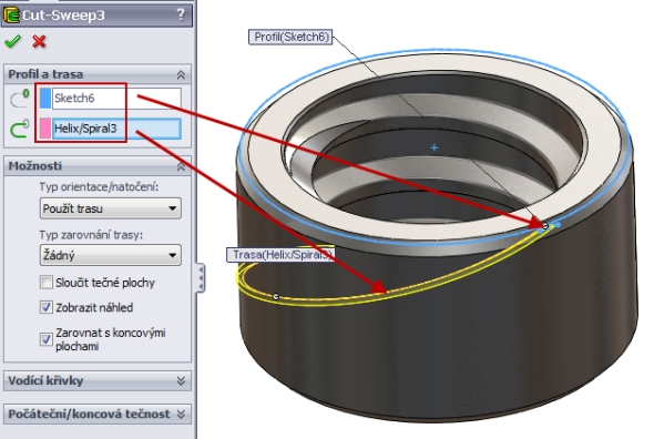24-SolidWorks-nut-matice-návod-tutorial-postup