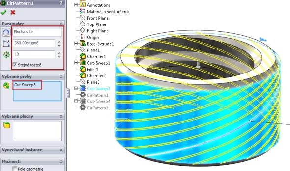 27-SolidWorks-nut-matice-návod-tutorial-postup
