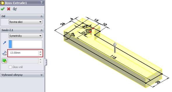 3-SolidWorks-Caxmix-návod-tutorial-hasák