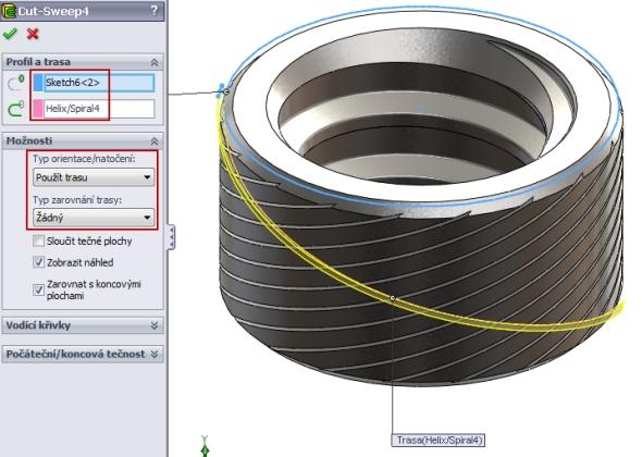 33-SolidWorks-nut-matice-návod-tutorial-postup