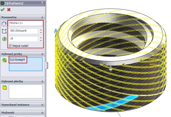 34-SolidWorks-nut-matice-návod-tutorial-postup