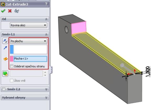6-SolidWorks-Caxmix-návod-tutorial-hasák
