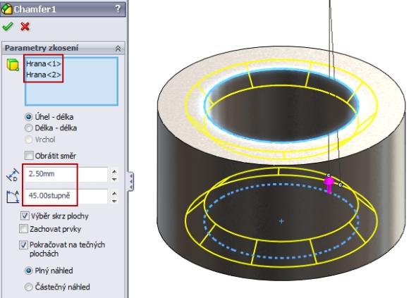 7-SolidWorks-nut-matice-návod-tutorial-postup