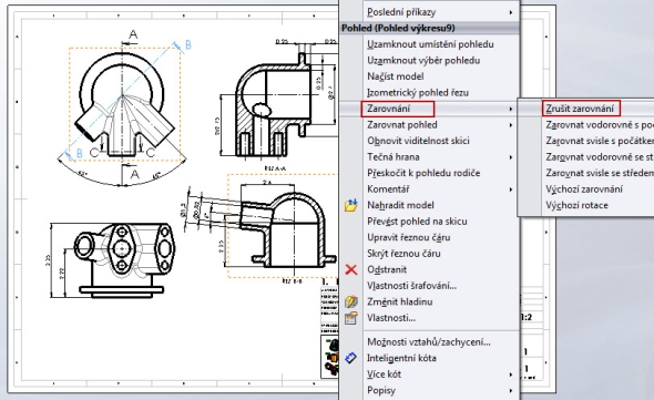 2-zarovnani-phledu-SolidWorks-drawings-vykres