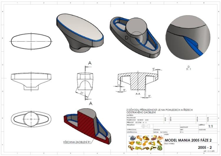 2-SolidWorks-zadani-Model-Mania-2005